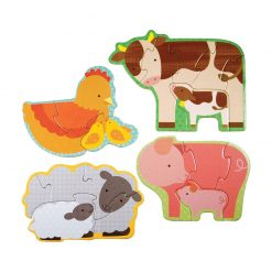 Petitcollage Prvé puzzle  Zvieratká z farmy 2