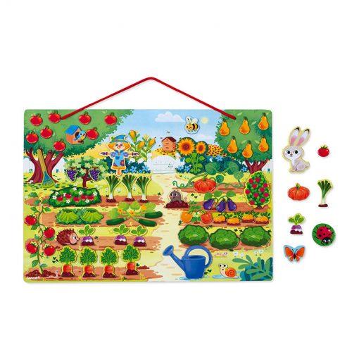 Janod Magnetická hračka Moja záhrada 1