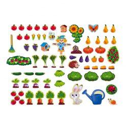 Janod Magnetická hračka Moja záhrada 3