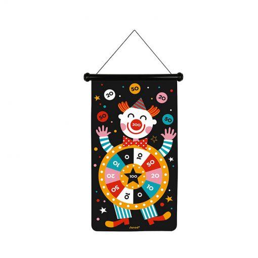 Janod Magnetický terč Cirkus 1