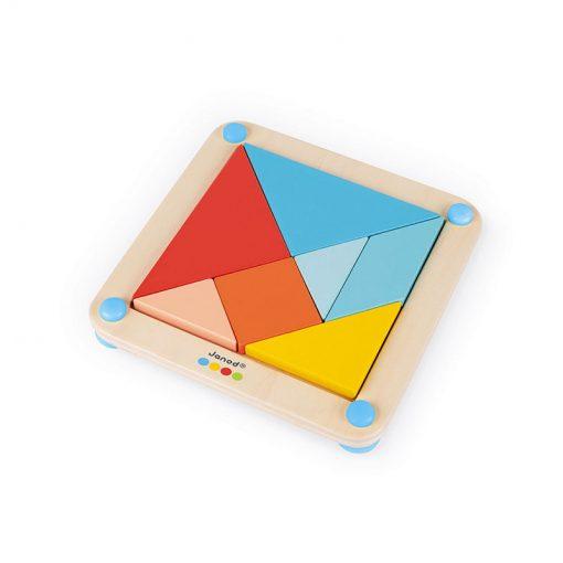 Janod Origami Tangram so série Montessori 1