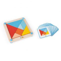 Janod Origami Tangram so série Montessori 2