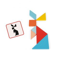 Janod Origami Tangram so série Montessori 3