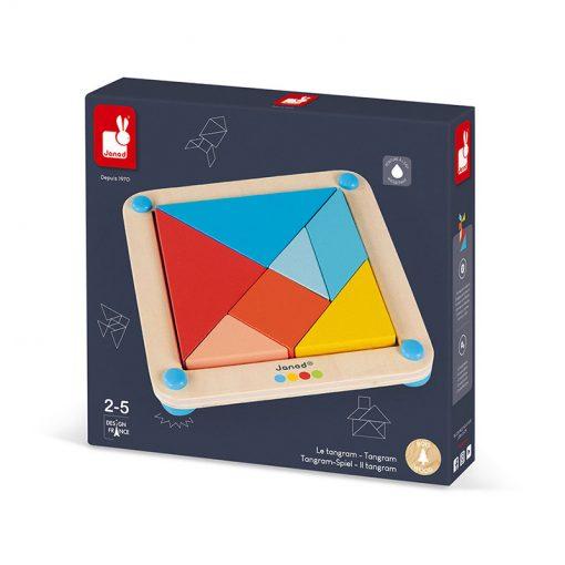 Janod Origami Tangram so série Montessori 4