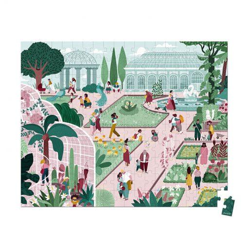 Janod Puzzle Botanická záhrada 1