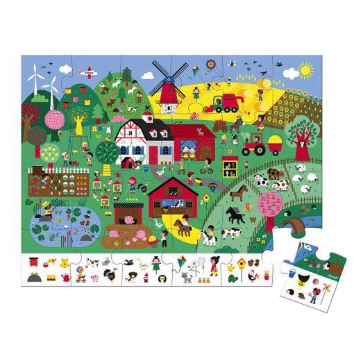 Janod Puzzle Farma 1