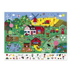 Janod Puzzle Farma 2