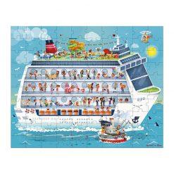 Janod Puzzle Námorná plavba 2v1 1