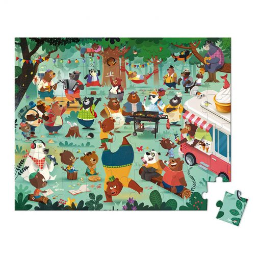 Janod Puzzle Rodina medveďov 1