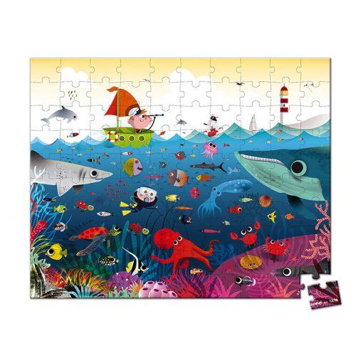 Janod Puzzle Svet pod vodou 1