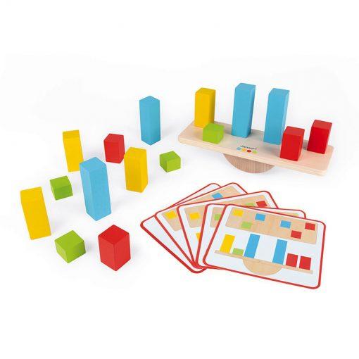 Janod Váhy a závažia so série Montessori 2