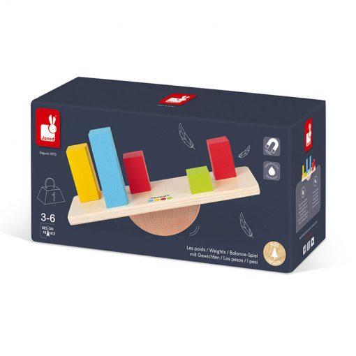 Janod Váhy a závažia so série Montessori 4