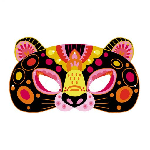 Janod Vyškrabovacie Zvieracie masky 3