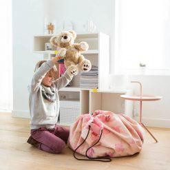 Play & Go Vak na hračky Ružový sloník 2
