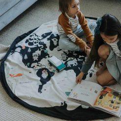 Play & Go Vak na hračky Worldmap 4