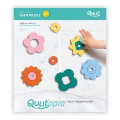 Quut Quutopia Puzzle do vody Kvetinky 2