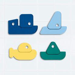 Quut Quutopia Puzzle do vody loďky 1