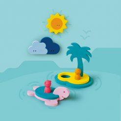 Quut Quutopia Puzzle do vody Ostrov pokladov 3