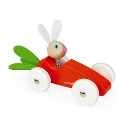 Janod Drevené auto Zajac 1