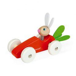 Janod Drevené auto Zajac 2