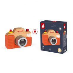 Janod Drevený fotoaparát so zvukom a svetlom 3