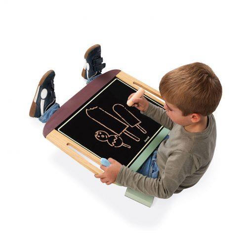 Janod Obojstranná magnetická tabuľa na stôl 4