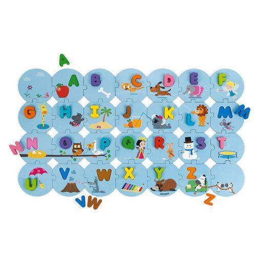 Janod Puzzle I learn Abeceda anglická 1
