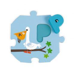 Janod Puzzle I learn Abeceda anglická 4