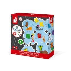 Janod Puzzle I learn Abeceda anglická 5