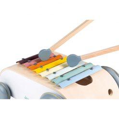 Janod Sweet Cocoon Vozík s xylofónom 4