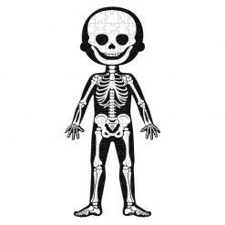 Janod Vzdelávacie Puzzle  Ľudské telo 5