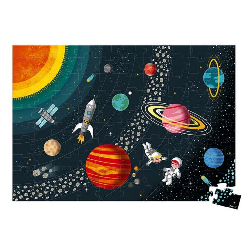 Janod Vzdelávacie Puzzle Vesmír a slnečná sústava 1