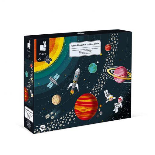 Janod Vzdelávacie Puzzle Vesmír a slnečná sústava 2