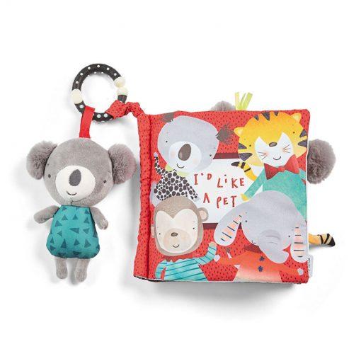 Mamas & Papas Textílna knížka s aktivitami Koala Koko 1