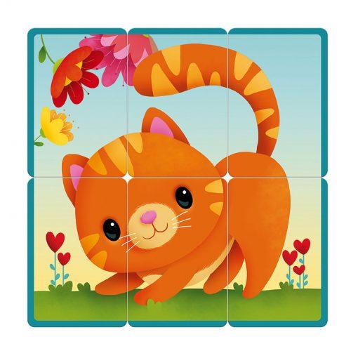 Janod Kartová hra Puzzle party 3
