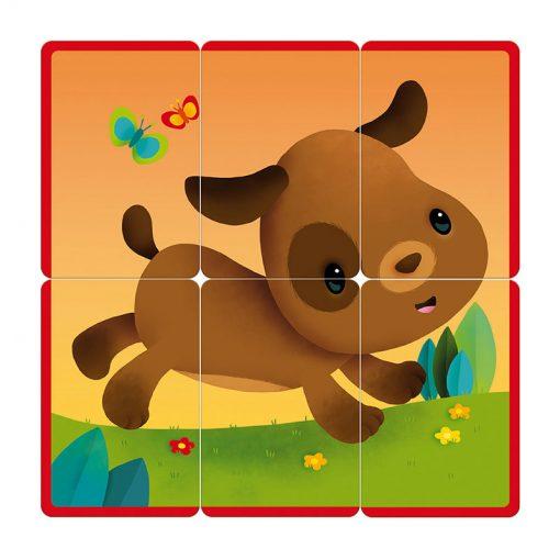 Janod Kartová hra Puzzle party 5