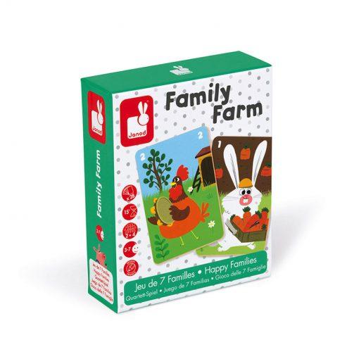 Janod Kartová hra Rodinná farma 1