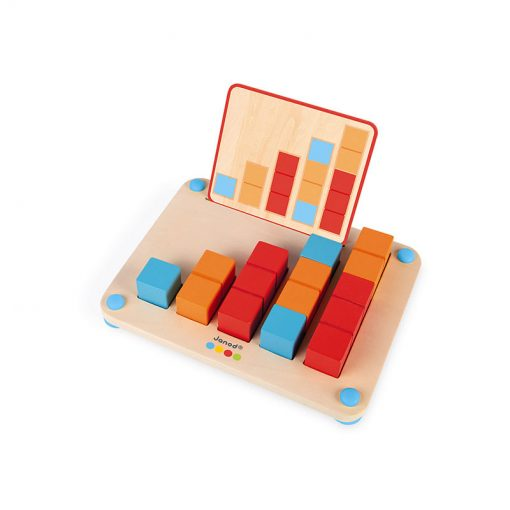 Janod Počítanie s predlohami séria Montessori 2