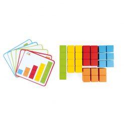 Janod Počítanie s predlohami séria Montessori 3