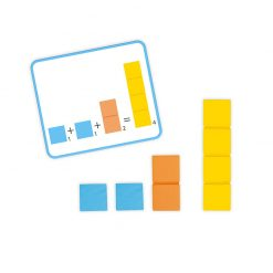 Janod Počítanie s predlohami séria Montessori 4