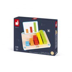 Janod Počítanie s predlohami séria Montessori 5
