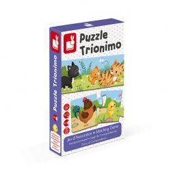 Janod Puzzle Trionimo 1