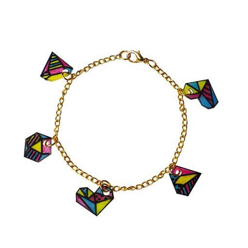 Janod Šperky Geometrix v šperkovničke 4