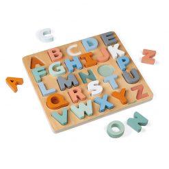 Janod Sweet Cocoon Vkladacie puzzle Abeceda 2