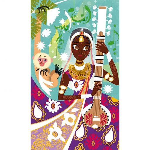 Janod Trblietavé obrázky Bollywood 4