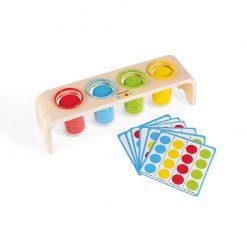 Janod Vkladanie a triedenie s predlohami séria Montessori 1