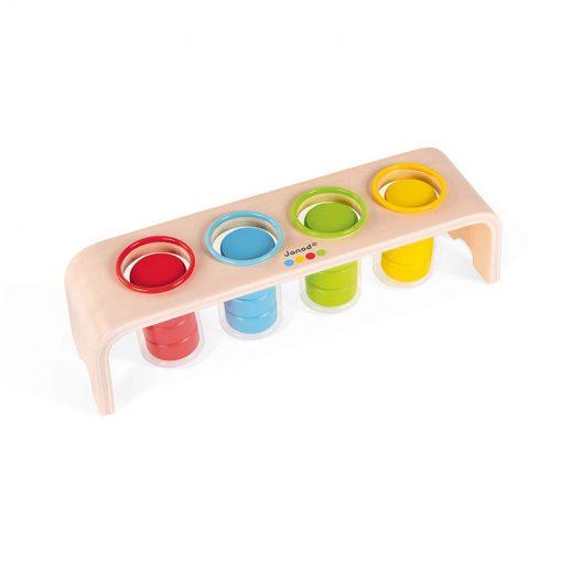 Janod Vkladanie a triedenie s predlohami séria Montessori 2