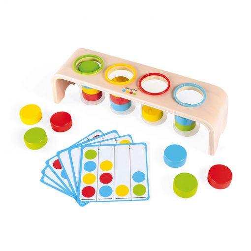 Janod Vkladanie a triedenie s predlohami séria Montessori 3