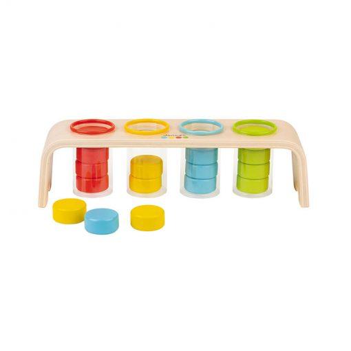 Janod Vkladanie a triedenie s predlohami séria Montessori 4