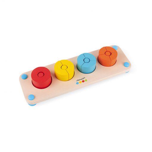 Janod Zlomky séria Montessori 1